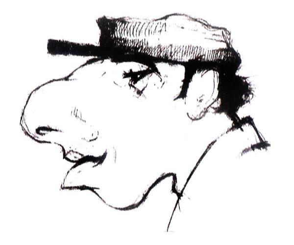 Донов (Бубер) в кепке от Москаленко. Рис. Мущты.